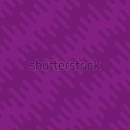 Waveform Irregular Rounded Lines Seamless Pattern Stock photo © almagami