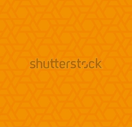 Orange Neutral Seamless Pattern for Modern Design in Flat Style. Stock photo © almagami