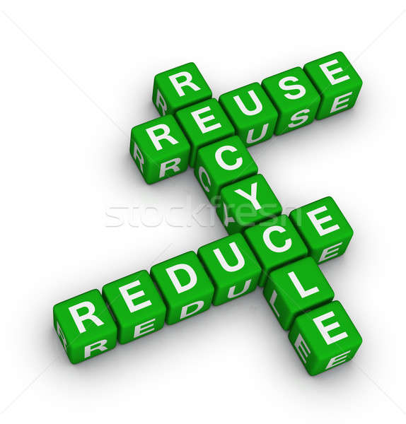 reuse, reduce and recycle Stock photo © almagami