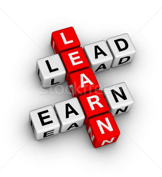 Learn to Lead and Earn Stock photo © almagami