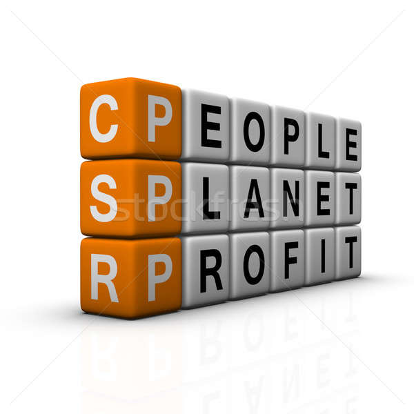 social responsibility Stock photo © almagami