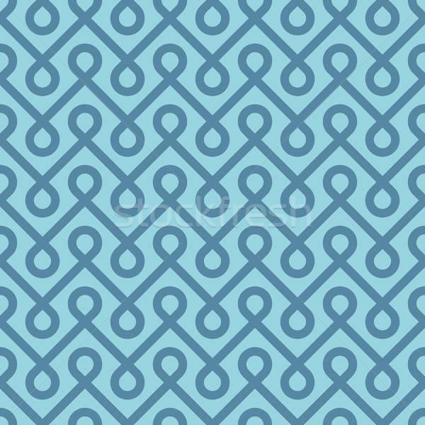 Blau linear Textur Mode Hintergrund Stock foto © almagami