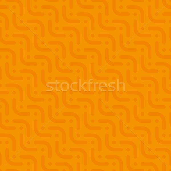 Nötr stil vektör web turuncu Stok fotoğraf © almagami