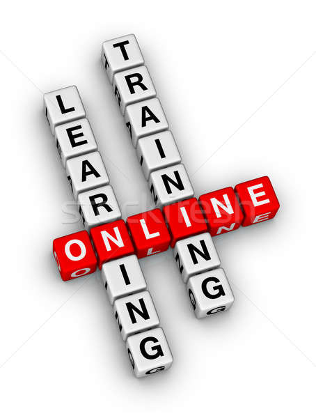online learning Stock photo © almagami