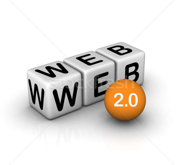 web 2.0 icon Stock photo © almagami