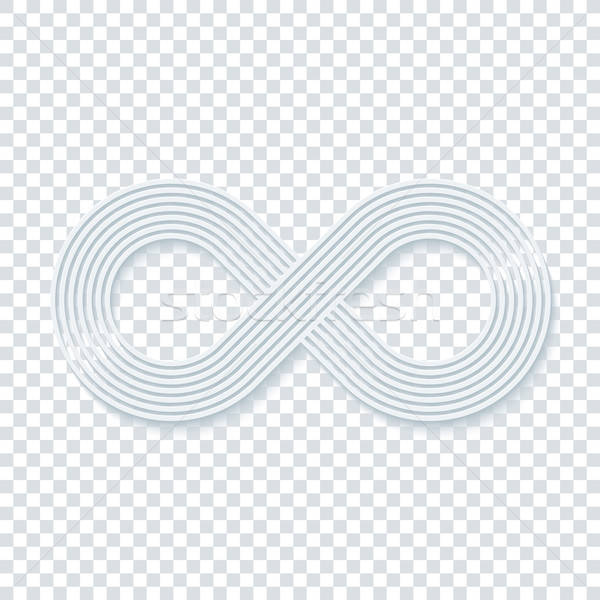Infinity symbol. Stock photo © almagami