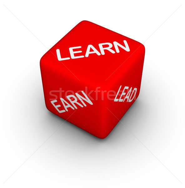 learn, earn, lead Stock photo © almagami