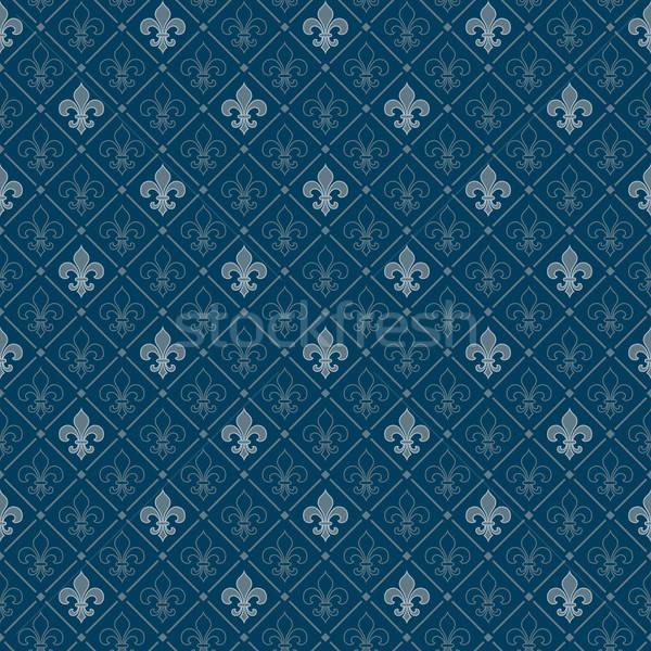 fleur de lis seamless pattern Stock photo © almagami