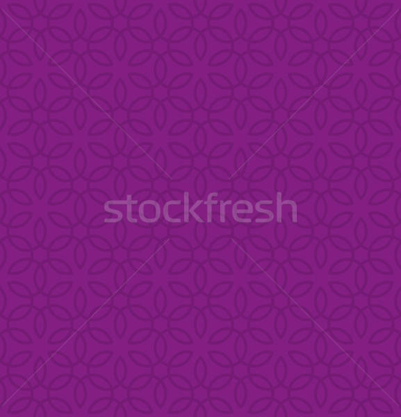 Floral ornament. Purple Neutral Seamless Pattern for Modern Desi Stock photo © almagami