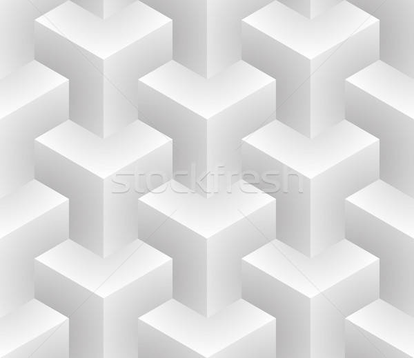Foto stock: 3D · neutral · blanco