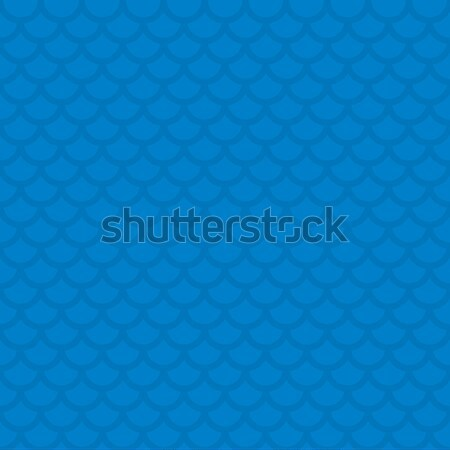 Fish scale. Blue Neutral Seamless Pattern for Modern Design in F Stock photo © almagami