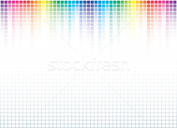 Abstract spectrum muziek dans licht disco Stockfoto © almagami