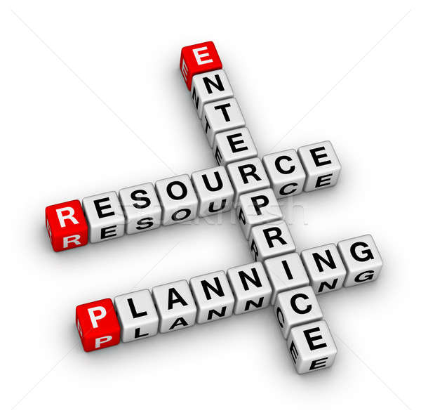 Enterprise Resource Planning (ERP) Stock photo © almagami
