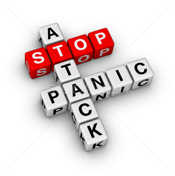 stop panic attack Stock photo © almagami