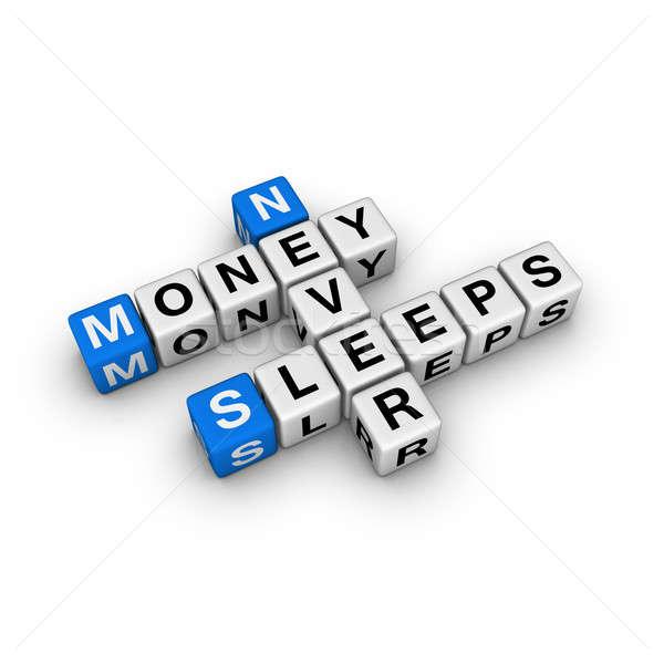 お金 決して 睡眠 キューブ クロスワード 抽象的な ストックフォト © almagami