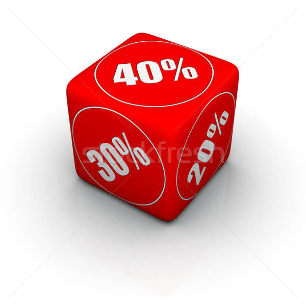 discount dice Stock photo © almagami