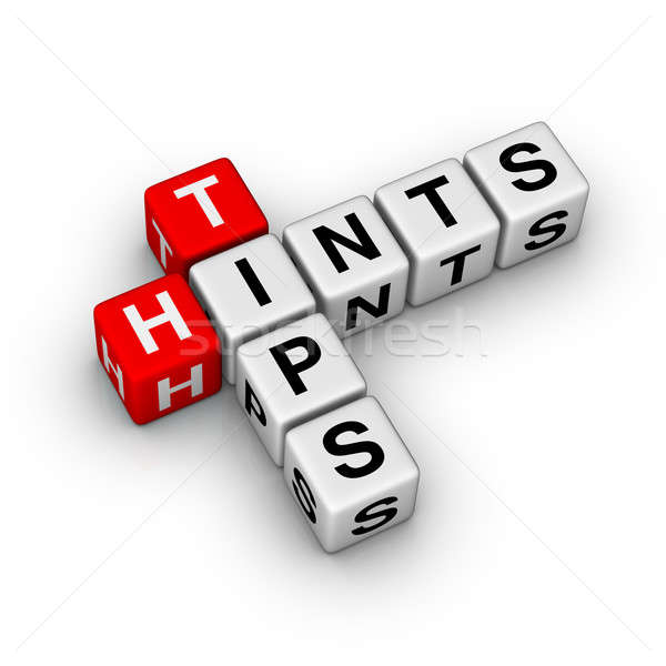 tips and hints Stock photo © almagami