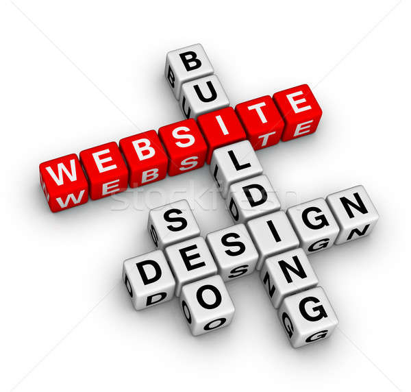 website building Stock photo © almagami
