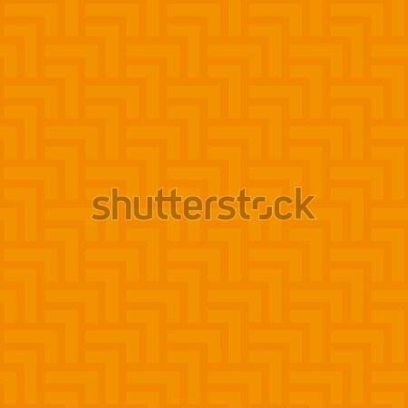 Neutral geometric seamless orange pattern Stock photo © almagami