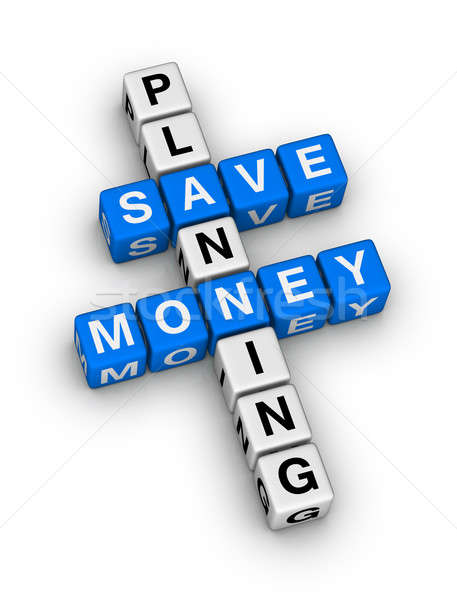 save money planning Stock photo © almagami