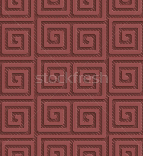 Marsala color perforated paper Stock photo © almagami