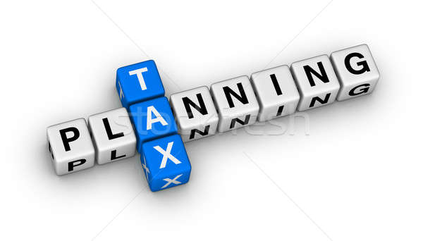 tax planning Stock photo © almagami