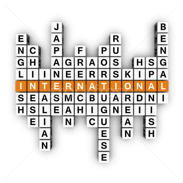 multilingual concept Stock photo © almagami