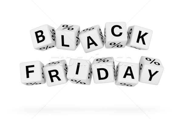 Black friday Shopping signe Finance magasin Photo stock © almagami