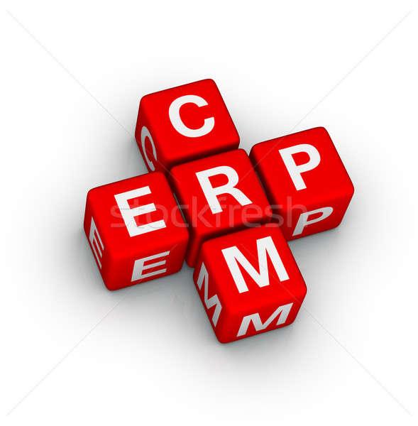 Erp And Crm Symbol Stock Photo Marina Putyata Almagami 2407655