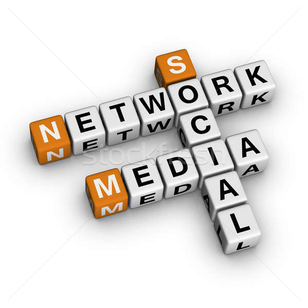 Social Media Network Stock photo © almagami