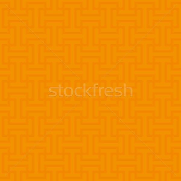 Naranja neutral moderna diseno estilo Foto stock © almagami
