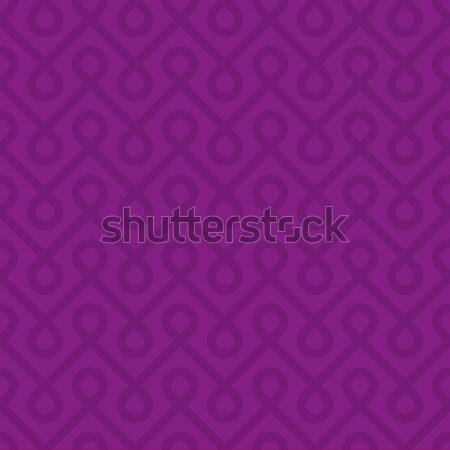Purple Linear Weaved Seamless Pattern. Stock photo © almagami