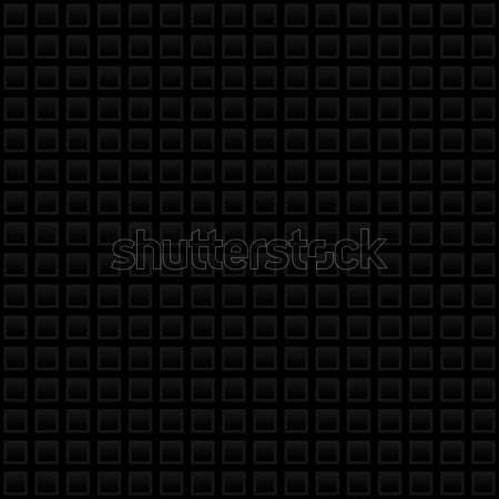 Waffle pattern.Black Neutral Seamless Pattern for Modern Design  Stock photo © almagami