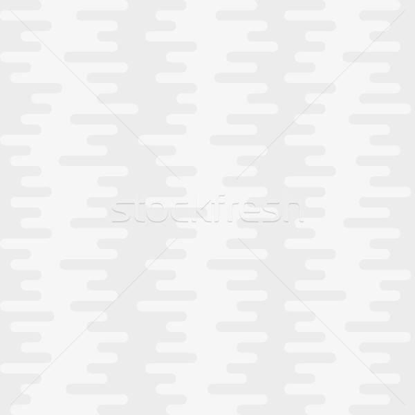 Ondulação linhas branco vetor água Foto stock © almagami