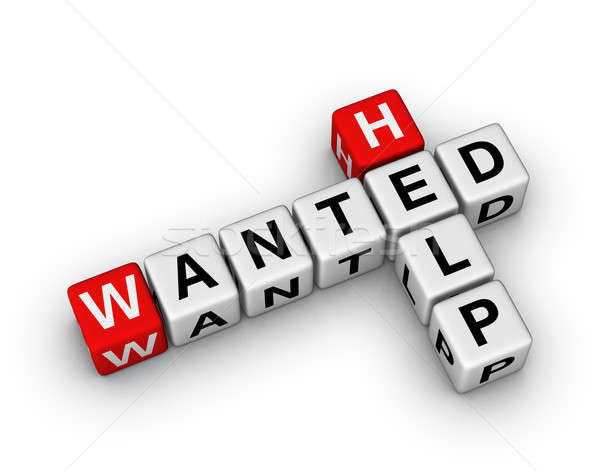 Help Wanted Stock photo © almagami