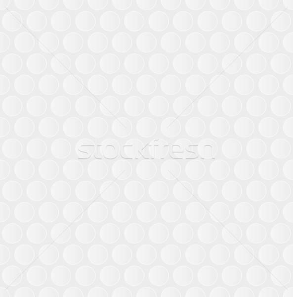 Bubble Wrap. White Neutral Seamless Pattern for Modern Design in Stock photo © almagami
