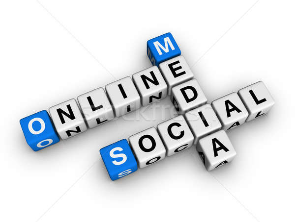 social media Stock photo © almagami