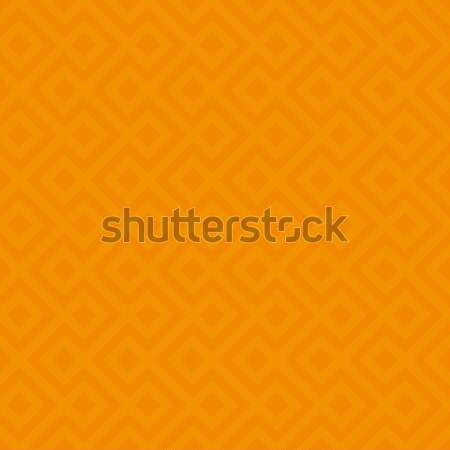 Orange Linear Weaved Seamless Pattern. Stock photo © almagami