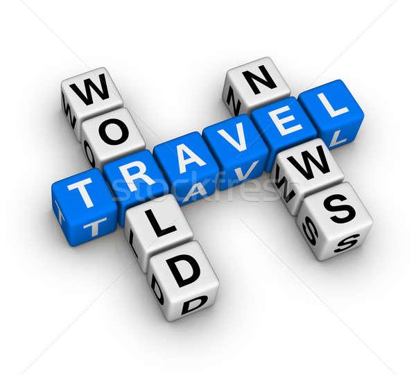 world travel news Stock photo © almagami