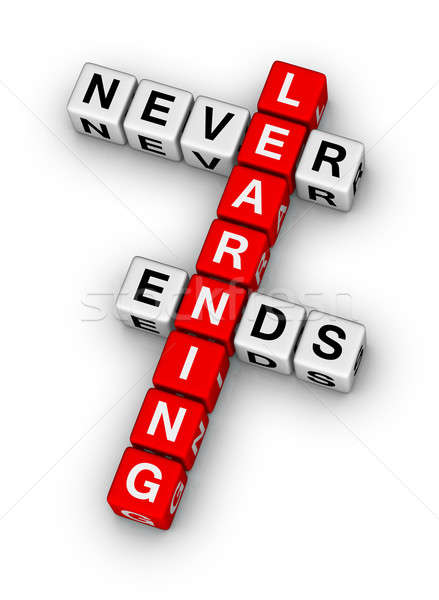 learning never ends Stock photo © almagami