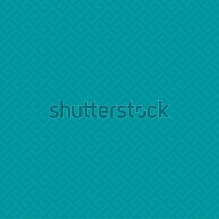 Turkus neutralny nowoczesne projektu stylu Zdjęcia stock © almagami