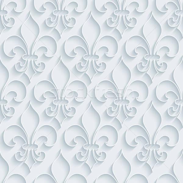 Blanche papier effet résumé Photo stock © almagami