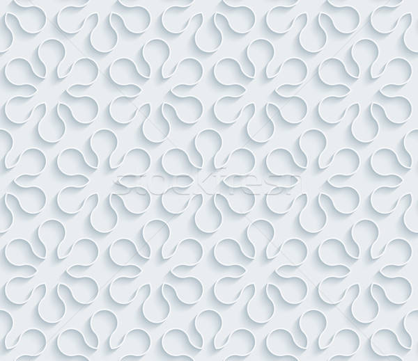 Branco papel sem costura efeito abstrato Foto stock © almagami