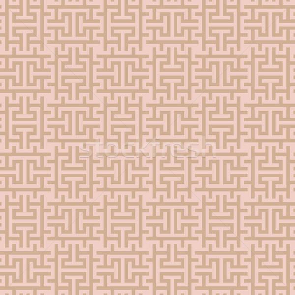 ストックフォト: ベージュ · 正方形 · 現代 · グレー · 中性