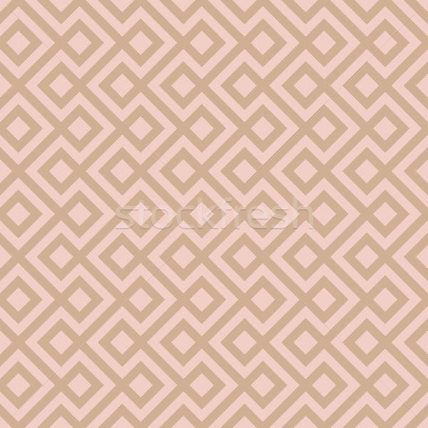Beige Linear Weaved Seamless Pattern. Stock photo © almagami
