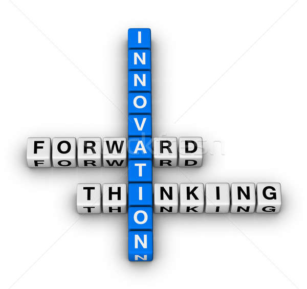 forward thinking innovation Stock photo © almagami