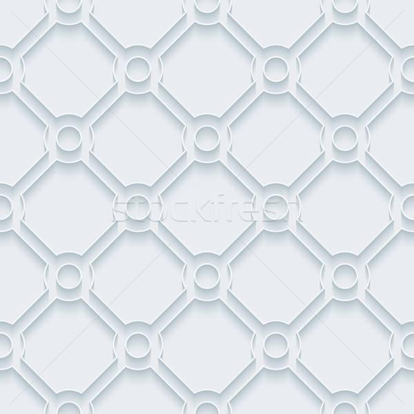 Beyaz kâğıt etki soyut Stok fotoğraf © almagami