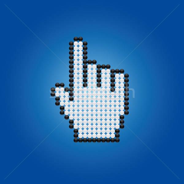 cursor hand Stock photo © almagami