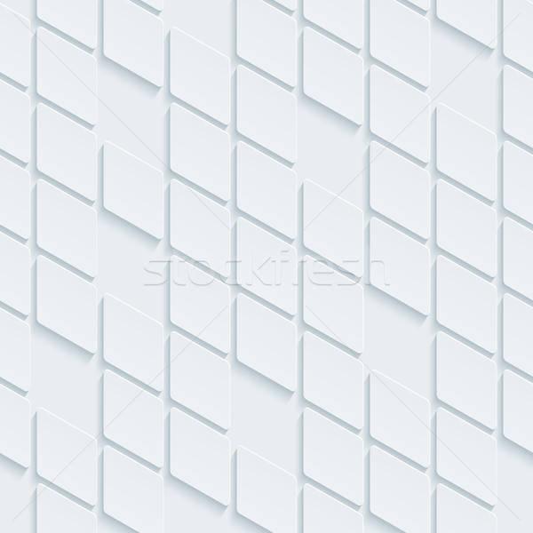 Abstract meetkundig neutraal mozaiek vector Stockfoto © almagami