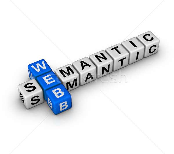 semantic web Stock photo © almagami